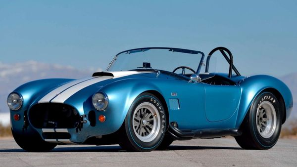 Original Shelby 427 S/C Cobra Set To Sell For Millions
