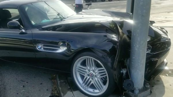 Looters Steal And Crash Rare Alpina Z8 In Santa Monica