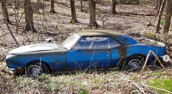 Half-Buried 1968 Chevy Camaro Z/28 To Receive Full Restoration