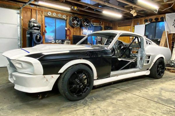 Body-Swapped Modern Mustang Tribute Build Seized Over 'Eleanor' Trademark