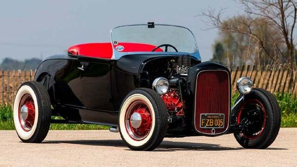 Cruise Like The King In This Elvis Presley-Driven Custom Ford Roadster