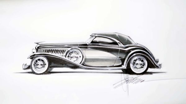 Watch Chip Foose Put Custom Touches On The Legendary Duesenberg
