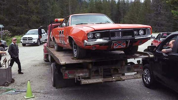 Stolen General Lee Leads Police On Chase In Montana