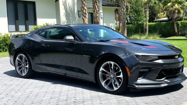 2017 Chevy Camaro 2SS Coupe 50th Anniversary Edition Celebrates A Legend