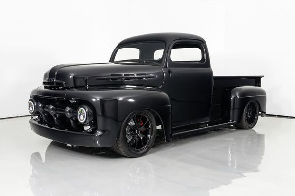 Chopped, Boosted '51 Ford F1 Pickup Restomod