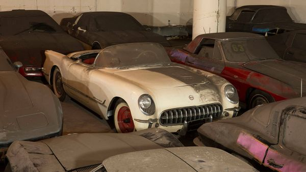 Clear Garage Space For An Ultra-Rare 1953 Chevy Corvette Barn Find
