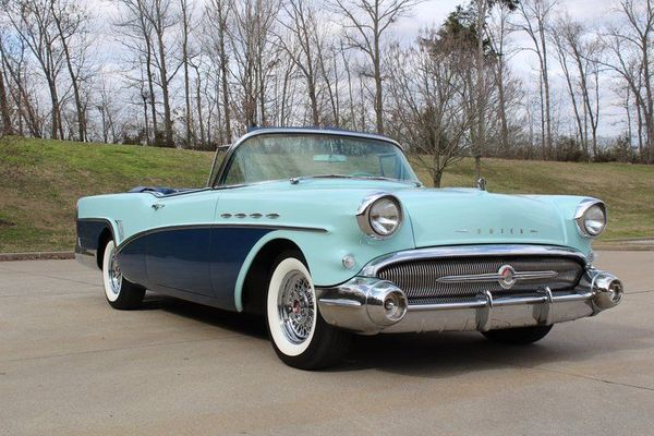 Cruise The Strip In Gorgeous Restored 1957 Buick Super Convertible