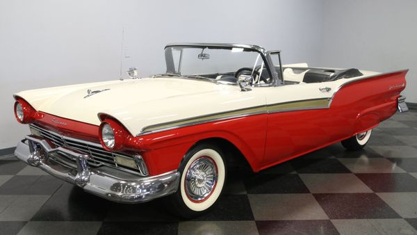 1957 Ford Fairlane Sunliner Lets You Soak In Summertime