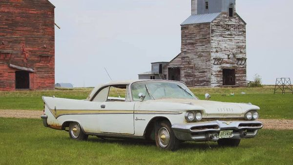 Rare 1959 DeSoto Barn Find Parked Since Vietnam War Is Finally Driven