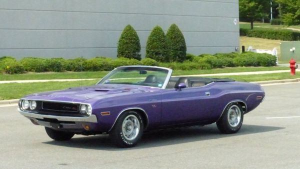 1970 Dodge Challenger R/T Has Accumulated Only 61K Miles