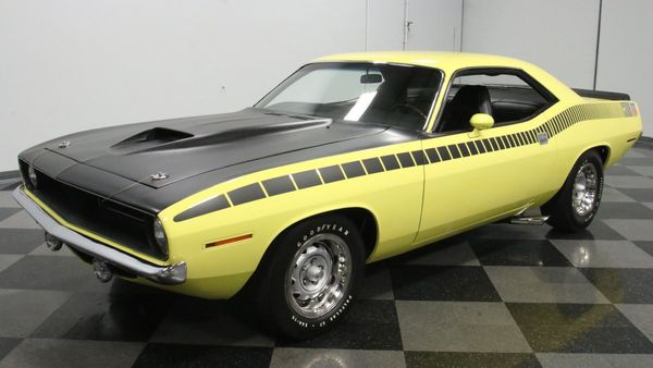 1970 Plymouth 'Cuda AAR Is A Numbers-Matching Beast