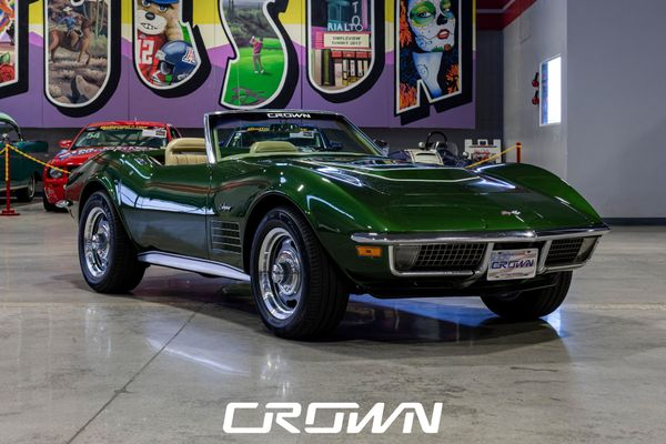 Make 'Em Green With Envy In An Ultra-Rare 1970 Chevy Corvette