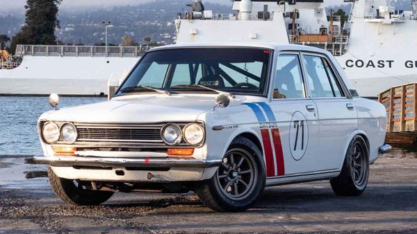Race-Prepped 1971 Datsun 510 Rally Car Is The Ultimate Track Toy