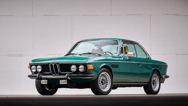 Lavishly Cruise Around Town In A 1974 BMW 3.0CS 5-Speed