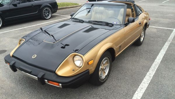 Remembering The Datsun 10th Anniversary 280ZX Black Gold