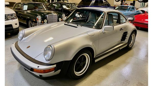 Porsches Don't Get Much Rarer Than This Turbo-Look 1988 Porsche 911