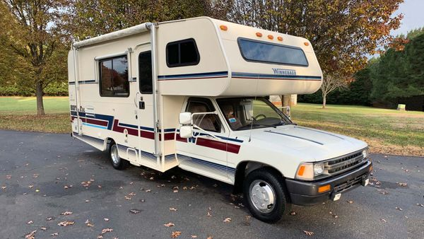 Hit The Open Road In This Toyota-Based 1992 Winnebago Warrior