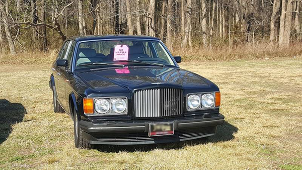 Make This 1993 Bentley Brooklands Your High-Society Project