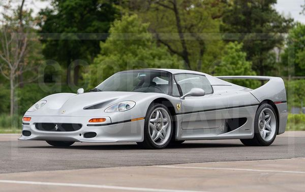 1995 Ferrari F50 Poised To Become Highest-Priced Car Ever Sold Online