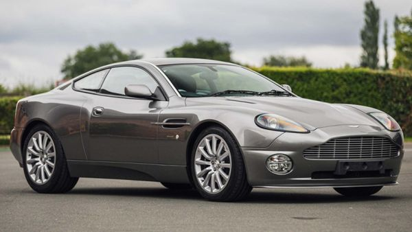 Royal Family's 2003 Aston Martin V12 Vanquish Heading To Auction
