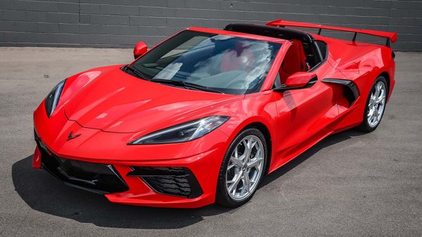 Torch The Streets In This Not-So-Little Red 2020 C8 Corvette