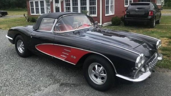 1958 Chevy Corvette Is A Genuine Barn Find