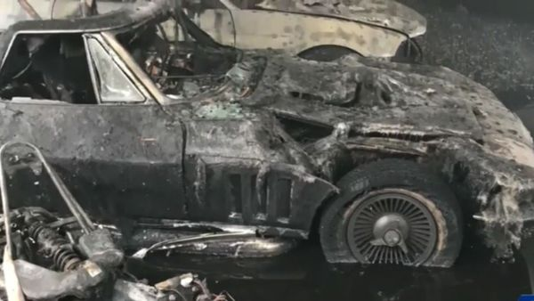 Vermont Fire Burns Classic American Cars
