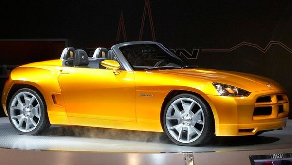 2007 Dodge Demon Concept Is The Sports Car That Never Was