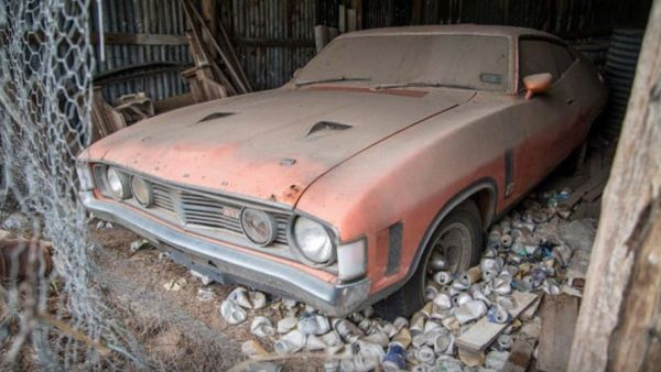 Barn Find 1973 Ford Falcon GT Sells For Over $300,000