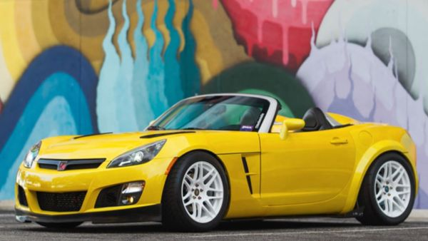 Saturn Sky Has A 2JZ Swap