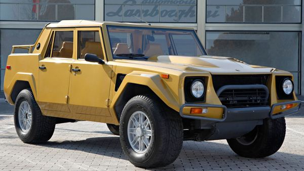 The Rambo Lambo Was One Tough SUV