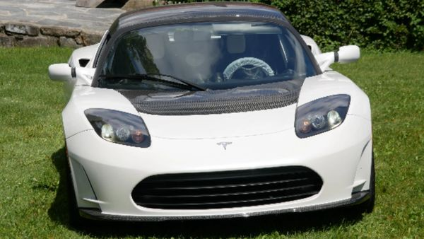 The Last Of The First-Gen Tesla Roadsters Is Listed For A Crazy Amount
