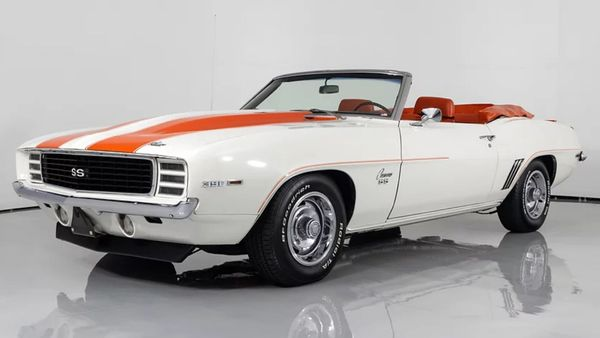 Enter To Win This 1969 Camaro Pace Car And Support Charity