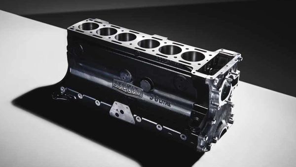 Jaguar Reproduces Vintage 3.8L Engine Block