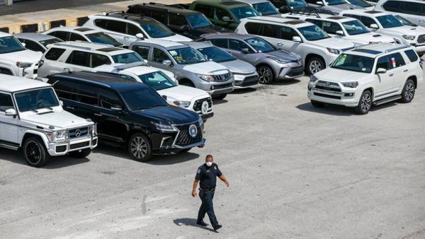 80 Venezuela-Bound Luxury Cars Seized By Federal Agents In Port Everglades