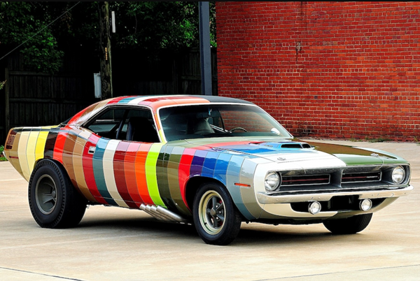 What Do You Think Of This Half-Psychedelic 1970 Plymouth 'Cuda?