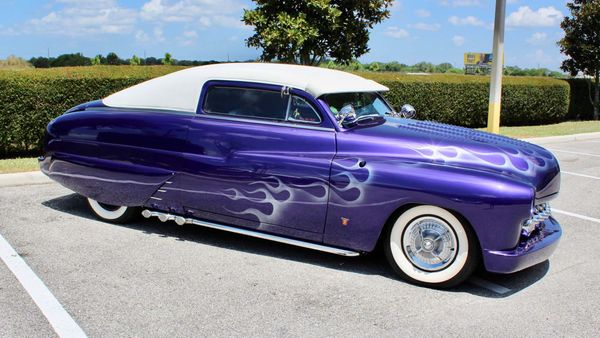 Show Off In This Custom 1950 Mercury Lead Sled