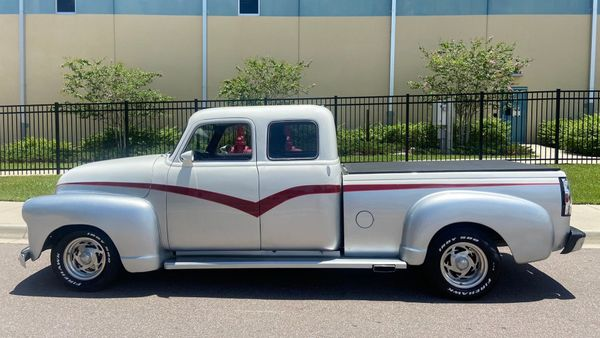 Restomod 1954 Chevy 3100 Extended Cab Lets You Go Large