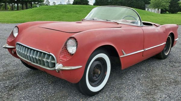eBay Find: 1954 Chevrolet Corvette Barn Find Project