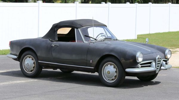 All-Original Barn Find 1960 Alfa Romeo Giulietta Spider Is A Worthy Project