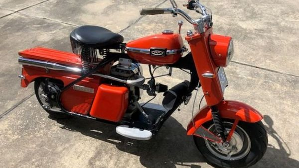 Ride Or Die With This 1963 Cushman Eagle