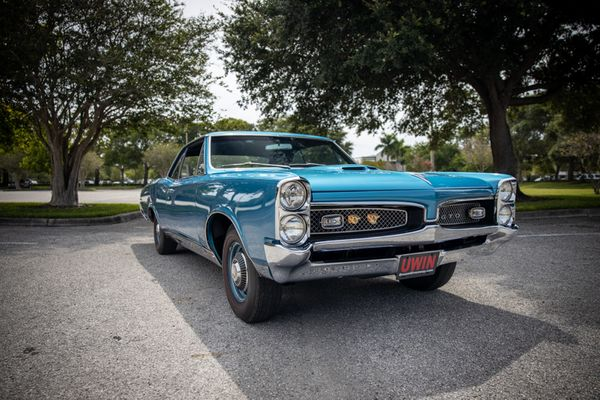 Roll Out In A Gorgeous Concours-Restored 1967 Pontiac GTO 400 H.O.