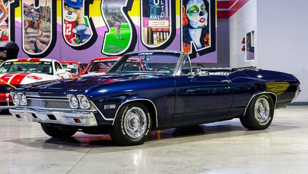 LS6-Powered 1968 Chevrolet Chevelle Convertible Is A Killer Cruiser