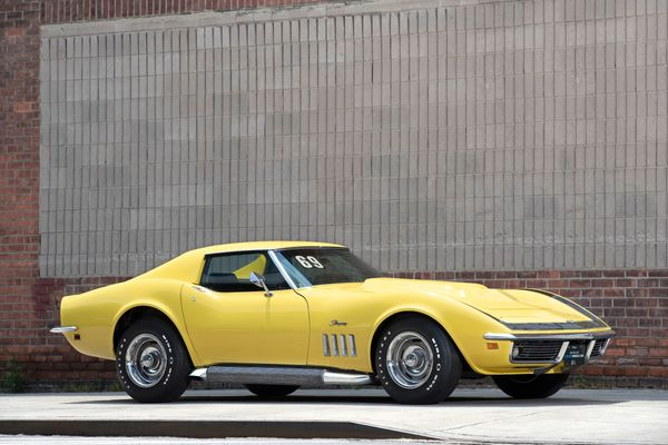 Win Your Dream Car - A Restored 1969 Chevy Corvette