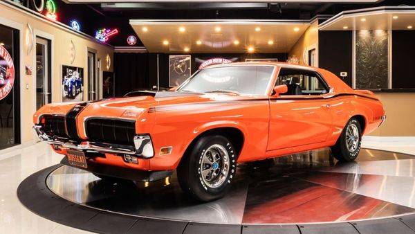 1970 Mercury Cougar Boss Eliminator Is One Rare Cat
