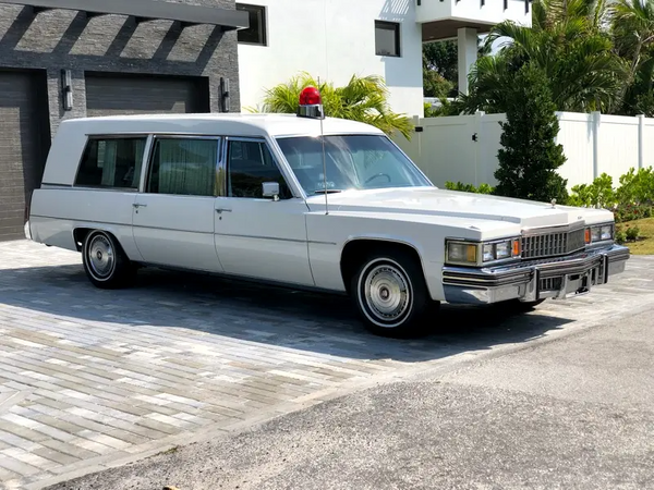 Turn Heads In This Like-New 1978 Cadillac Deville Hearse