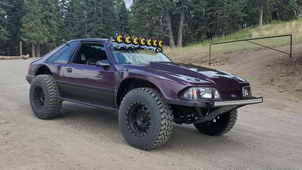 Facebook Find: Modified 1983 Ford Mustang Is Ready To Safari