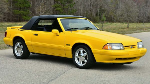 Bid On A Rare 1993 Ford Mustang Limited Edition