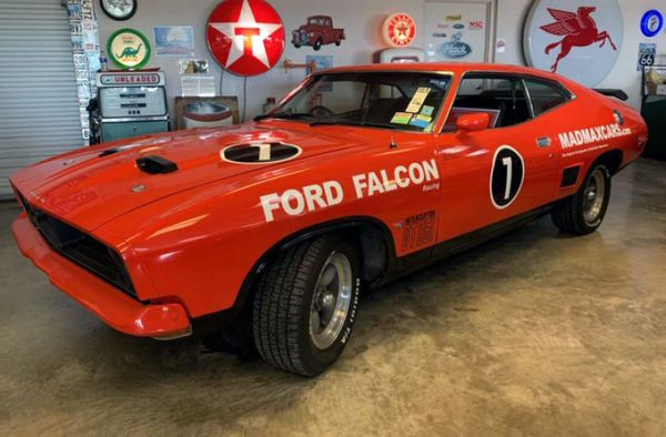 Unrestored 1976 Ford Falcon XBGT Is A Rare, RHD Racer