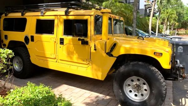 1998 AM General Hummer H1 Makes For Memorable Adventures